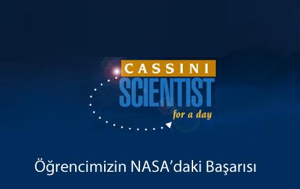 Öğrencimizin NASA'daki Başarısı